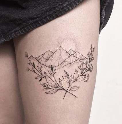 Photo of 40+ Ideas tattoo mountain landscape tat