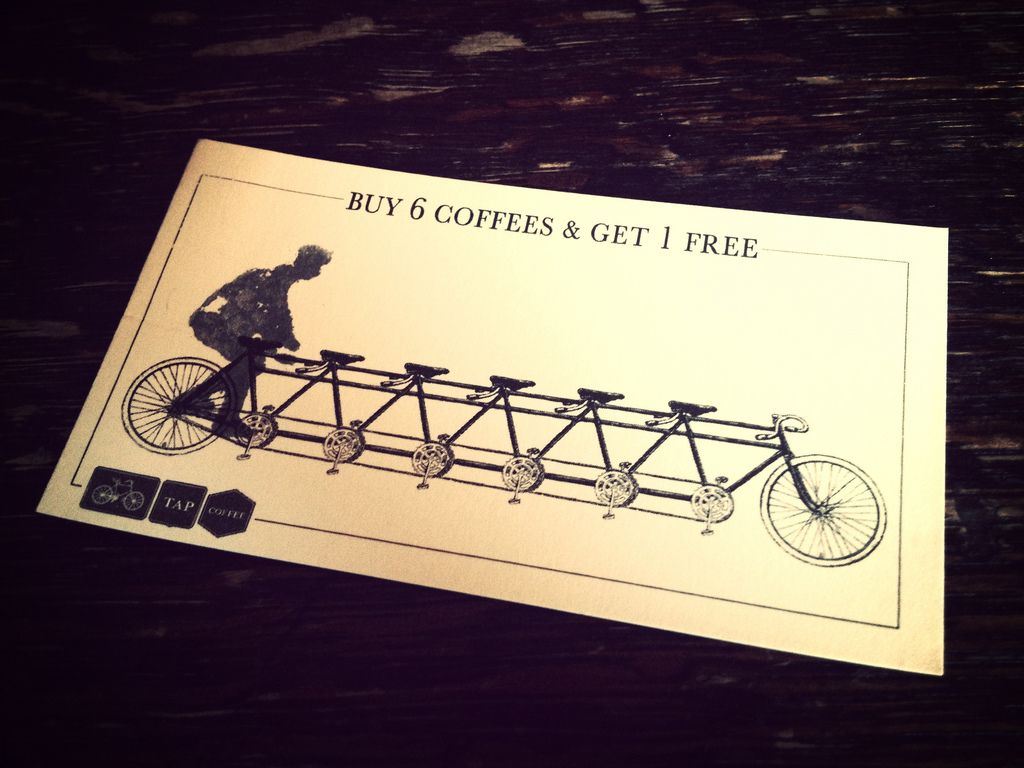 coffee loyalty card design  google 搜尋 with images