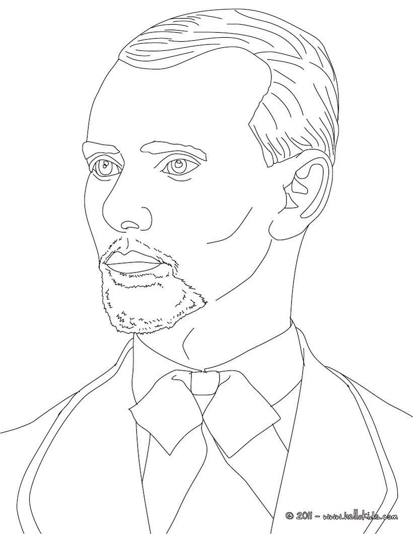Jesse James Coloring Page People Coloring Pages Coloring Pages