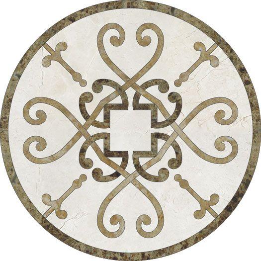 Foyer Medallion Designs : Medallion outlet design foyer