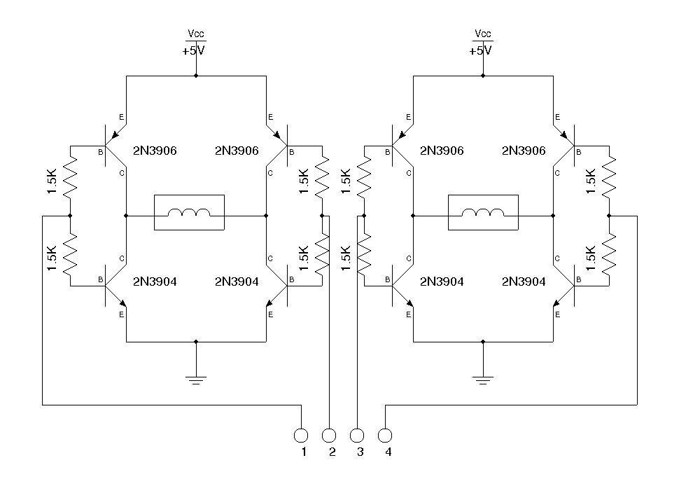 driving cdrom stepper motor arduino circuits électroniques driving cdrom stepper motor arduino