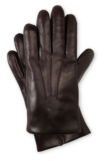 782d358a44b84 John W. Nordstrom® Cashmere Lined Leather Gloves available at #Nordstrom