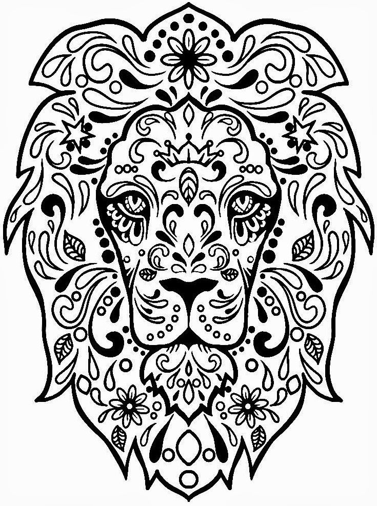 check out these free printable wood burning patterns that you can print transfer and burn all for free find this pin and more on coloring pages adults - Lion Coloring Pages For Adults