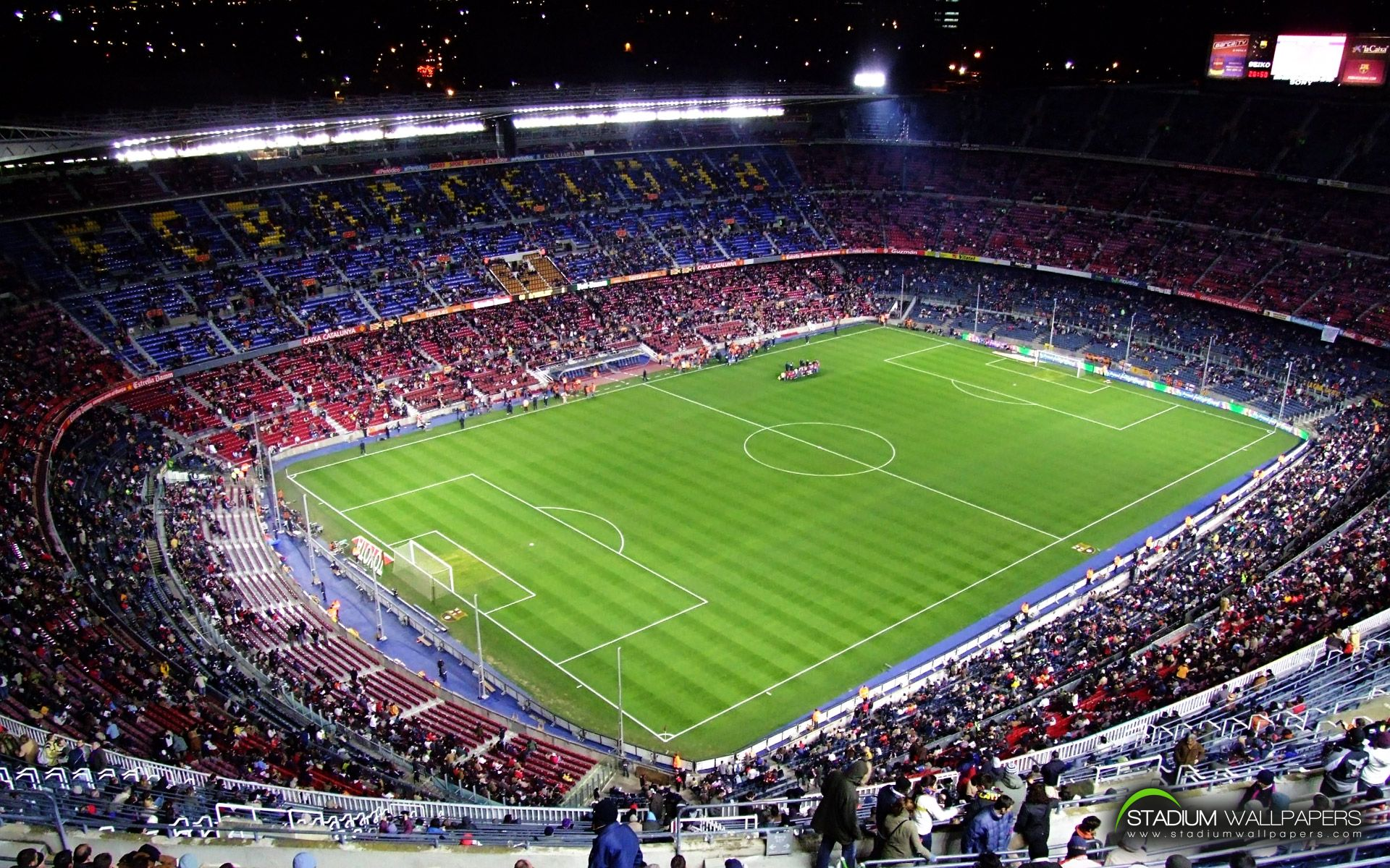 The camp nou football stadium in barcelona has been the - New home barcelona ...