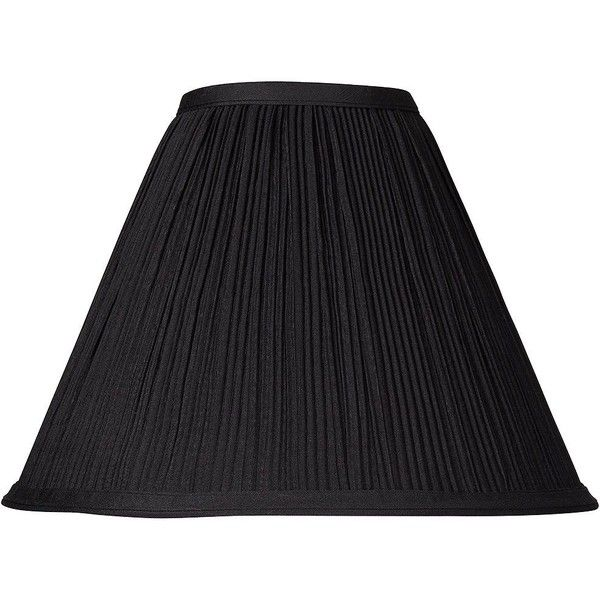 Brentwood black mushroom pleated lamp shade 4x11x85 spider 15 brentwood black mushroom pleated lamp shade 4x11x85 spider 15 liked on polyvore featuring home lighting black lamp shades pleated lamp shade mozeypictures Choice Image