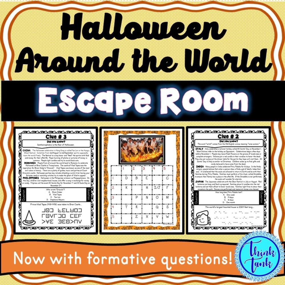 Halloween Around the World Escape Room! Halloweenlike