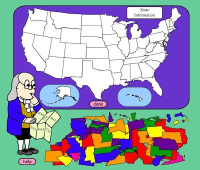 There are so many resources online for teaching US states and their