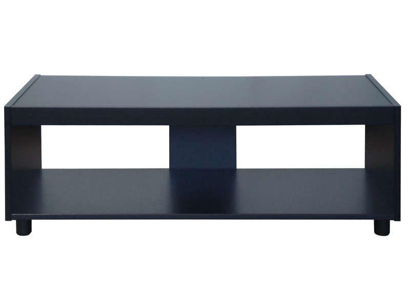 meuble tv stan 2 coloris noir pas