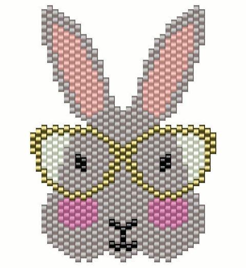Bonjour Comme je vous l'avais promis, voici le diagramme de mon petit lapin à lunettes. J'espère qu'il vous inspirera, j'ai hâte de voir vos interprétations. Il s'agit d'un motif personnel ainsi je vous demande de bien vouloir citer votre source avec #motifmisslilou et de ne pas en faire d'usage commercial #danslabulledemisslilou #madeinloire #madeinsaintetienne #miyuki #jenfiledesperlesetjassume #perlesaddict #perlezmoidamour #perlesandco #motifperso #lapinalunettes #brickstitch