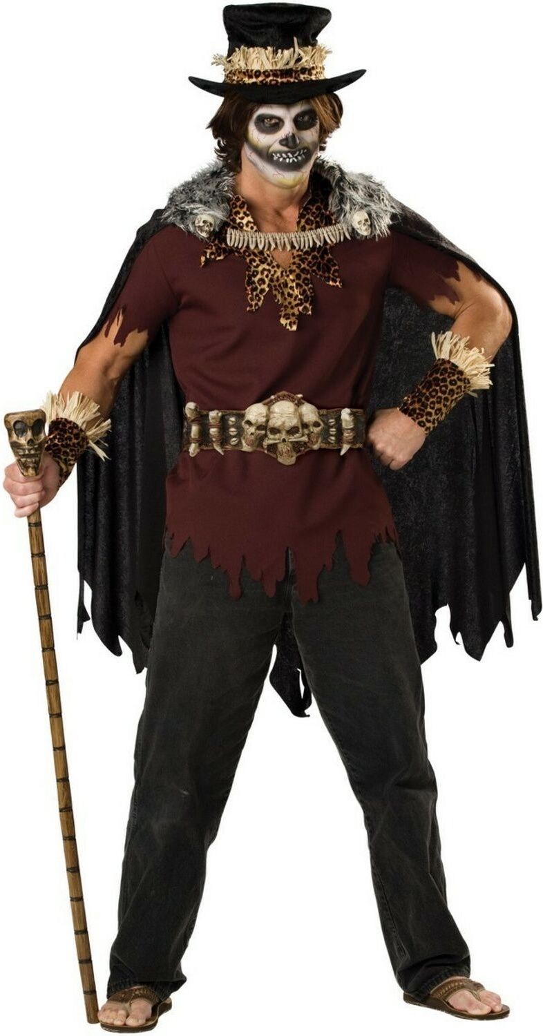 Mr.Cool Witch Doctor Adult Halloween Costume for men. | Adult ...