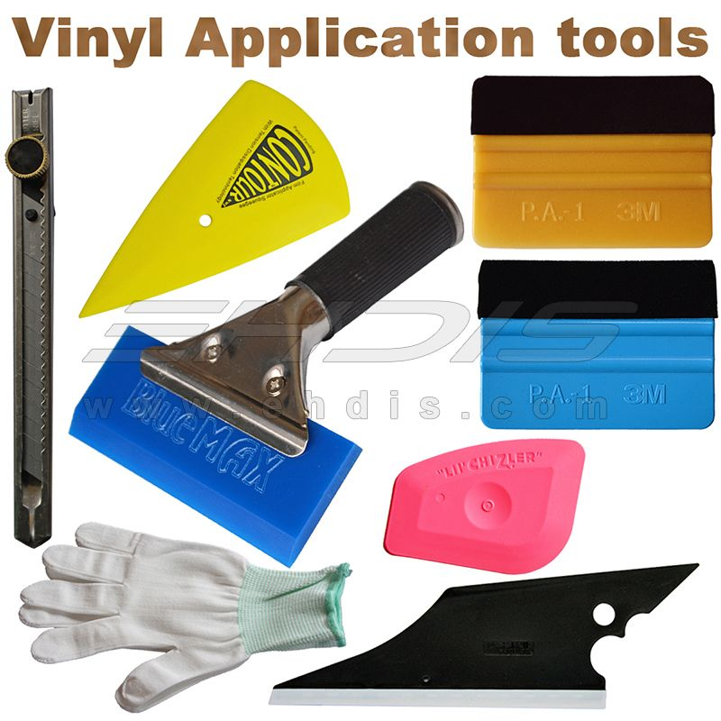 Window Tint Installation 3M Squeegee Cutter Magnet Car Wrap Vinyl Tools Kit