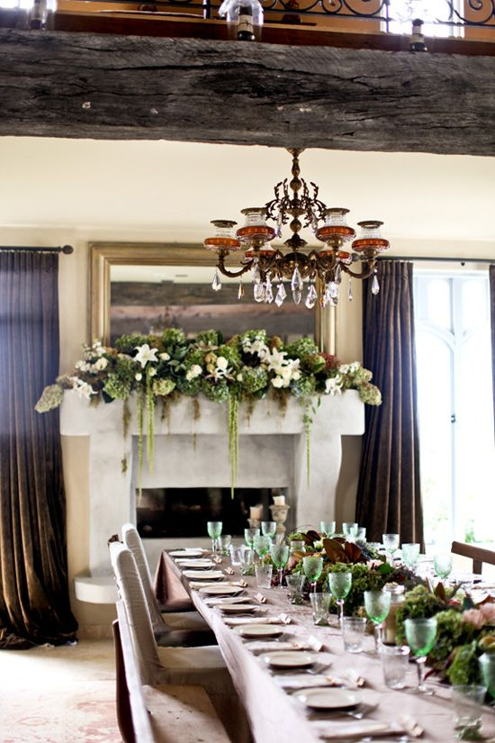 A French Country Wedding Mantels Decor Country Weddings And Mantels