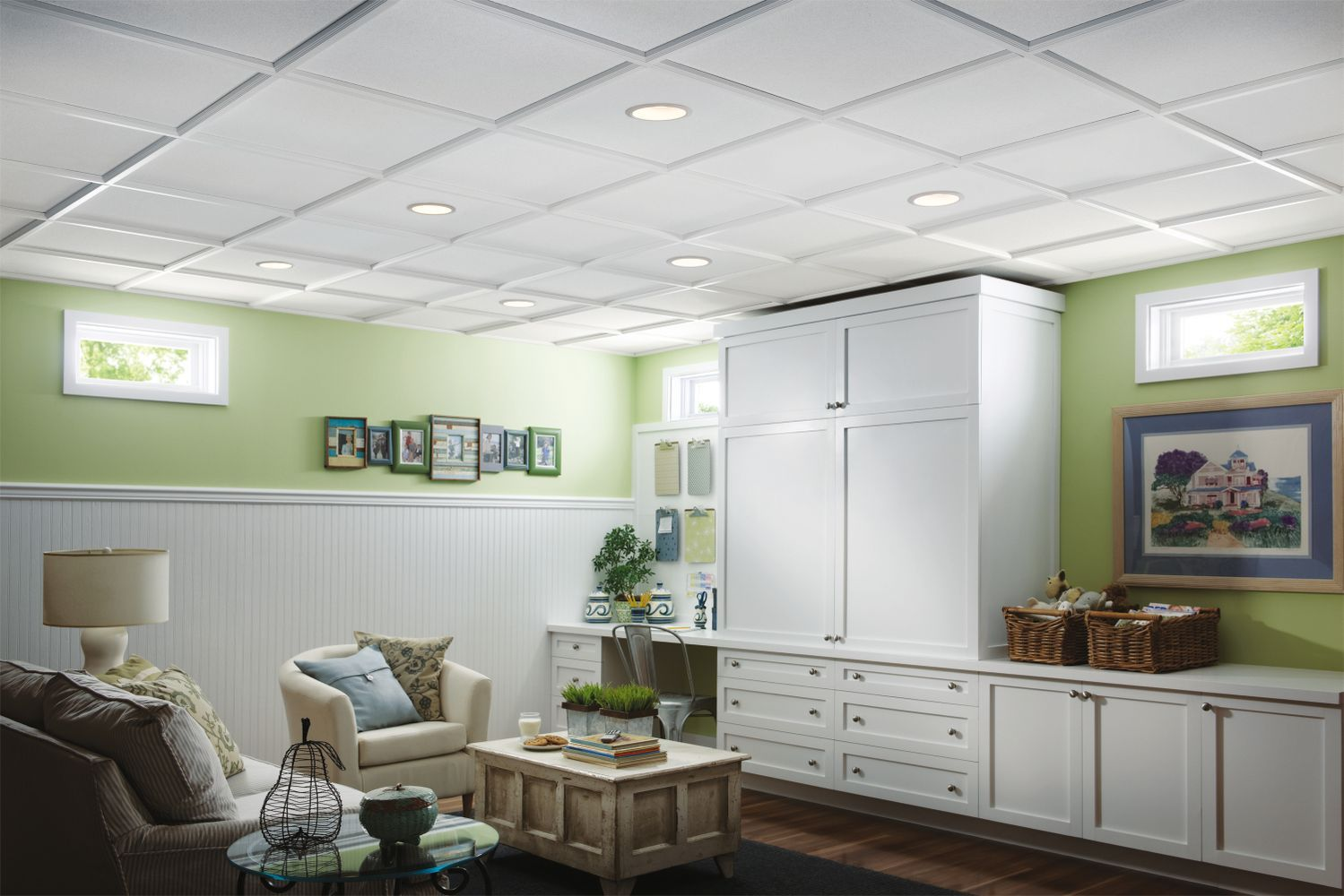 sahara homestyle ceilings smooth paintable 2 x 2 panel 273 by rh pinterest com Armstrong 1205 Ceiling Tile Armstrong Ceiling Tile Planks