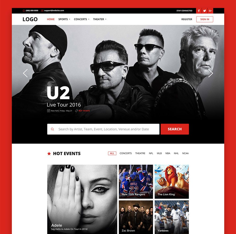 Download Free Online Ticket Booking Website Template Free Psd Download Psd Download Free Psd Resources F Free Website Templates Booking Website Template Free