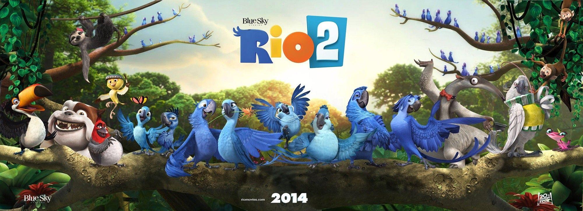 filme: rio 2 (2014) | pinterest