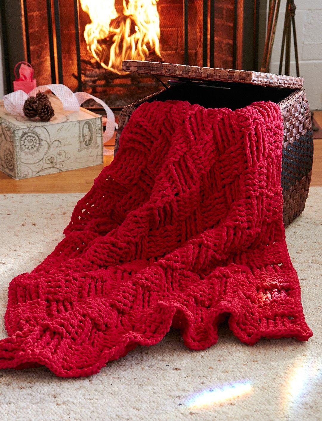 Basketweave Afghan: free #crochet #afghan #pattern | Crochet Blanket ...