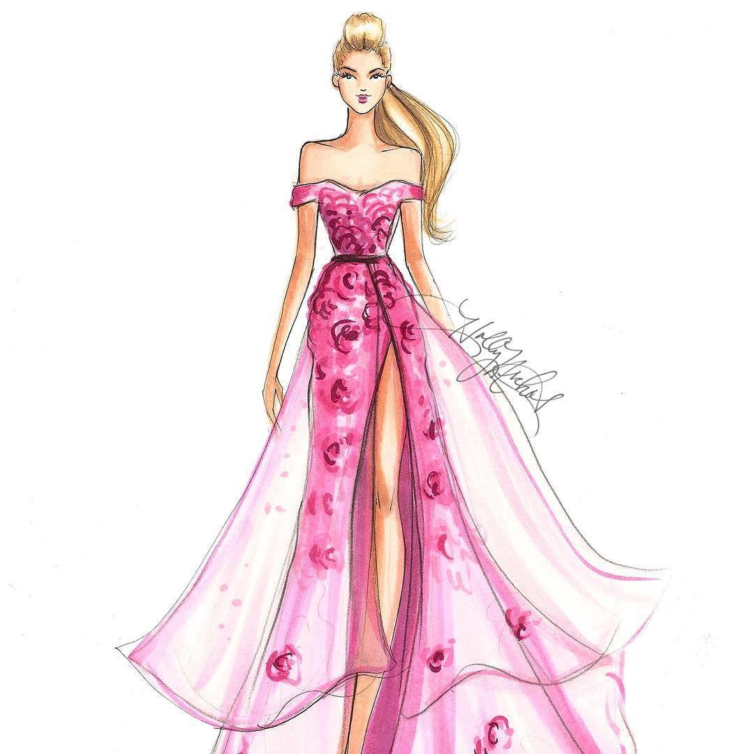 hnicholsillustrationUnintentional Faux Hawk Barbie. #fashionsketch ...