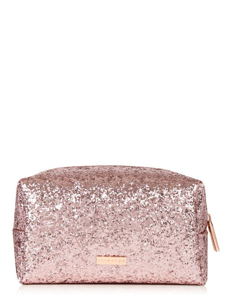 Rose Gold Dita Makeup Bag Rose Gold Pencil Case Bags