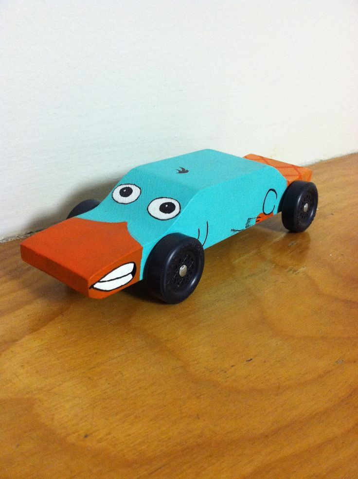 Perry The Platypus Pinewood Derby Car Designs Perry The Platypus