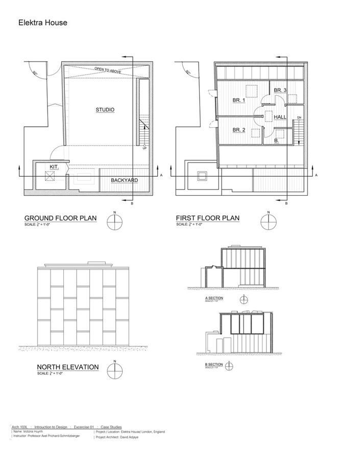 21 First Drafts David Adjayes Elektra House – House Floor Plans To Scale