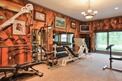 8 Great Rustic Home Gyms Decor Ideas Home Gym Decor Gym Decor