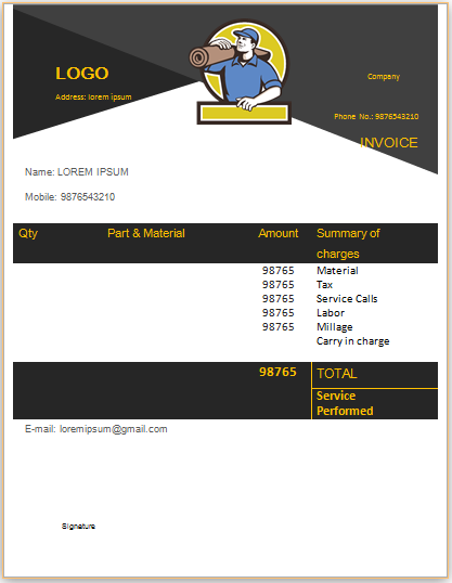 Carpet Cleaning Invoice Template 17 Invoice Template Professional Carpet Cleaning Invoicing