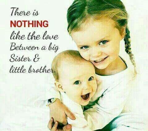 A Big Sister Is A Perfect Example Of Second Mother Little Brother Quotes Big Sister Quotes Brother Quotes