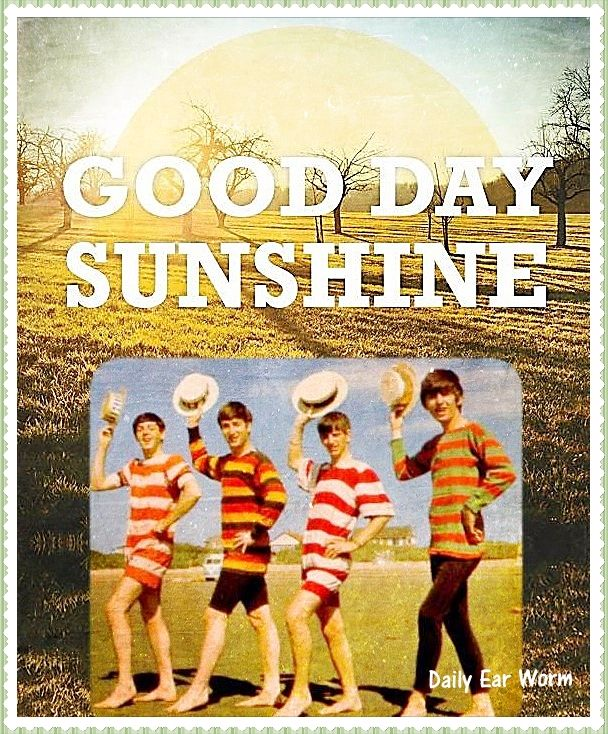 Image result for good day sunshine the beatles