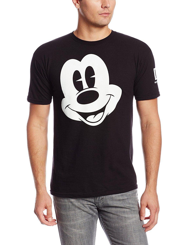9d37bc89 Disney Neff Men's Mickey Mouse T-Shirt | Amazon.com | Disneyland and ...
