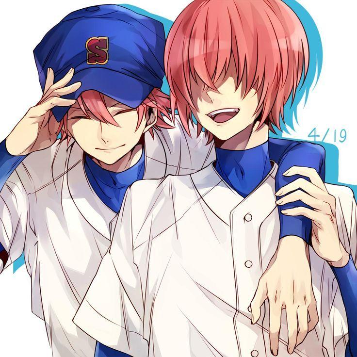 Daiya No Ace Ace Of Diamond Images Diamond No Ace: Character: Ryosuke & Haruichi Anime: Diamond No Ace