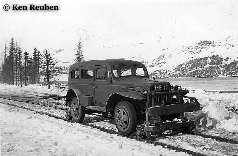 Dodge Power Wagon on the Rails