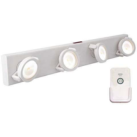 Led Battery Powered White Light Bar With Remote 2f972 Lamps