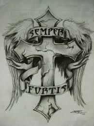 Semper Fortis Google Suche Tats Tattoos Tatting Ink