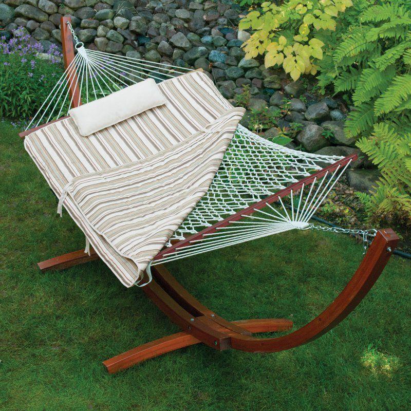 Island bay single rope hammock swing