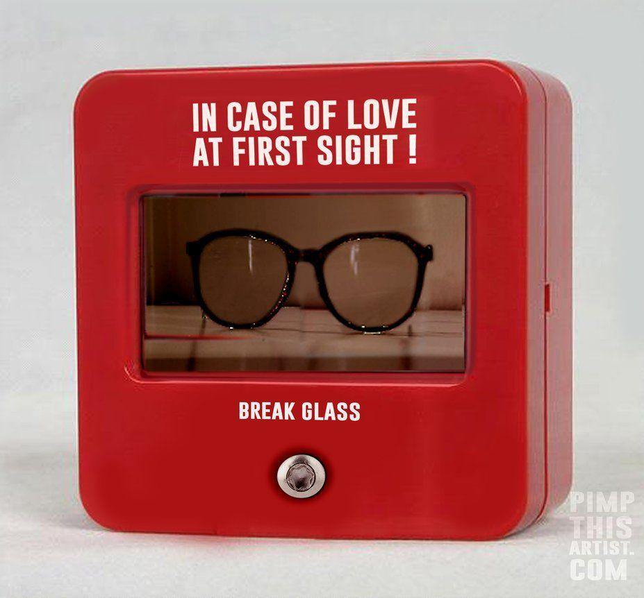 In Case Of Love At First Sight - Break Glass by TonyConlon.deviantart.com on @DeviantArt
