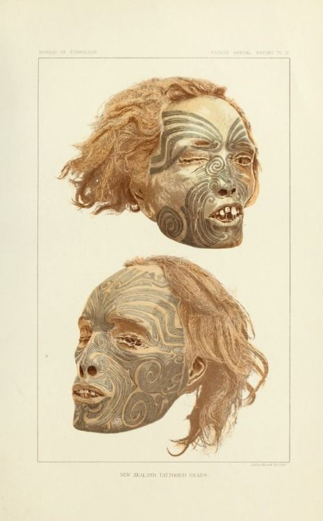 """Two Beautifully Tattooed Heads (from New Zealand) Are In"