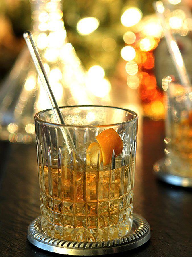 Vanilla Old Fashioned Cocktail Happy Hour Pinterest Vanilla