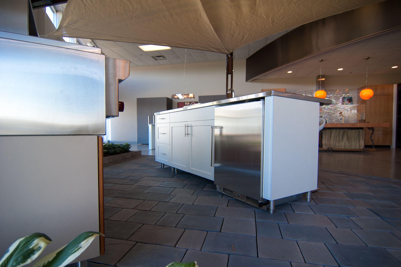 Outdoor Kitchen Cabinets Brisbane Woodways Outdoor Kitchen Line Stainless Steel Appliances Teak