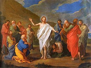 Image result for image appearance of jesus in galilee