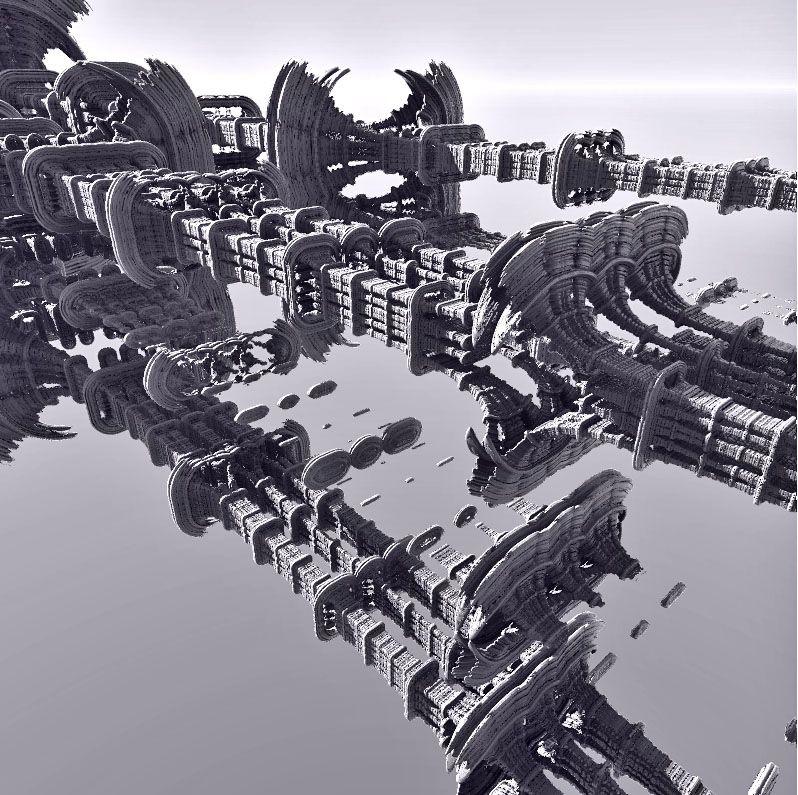 Andrei's Jippa amazing 3D fractals.
