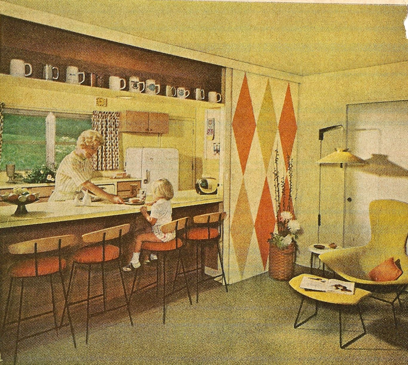 Kitchen Magazines Mid Century Homes Gardens
