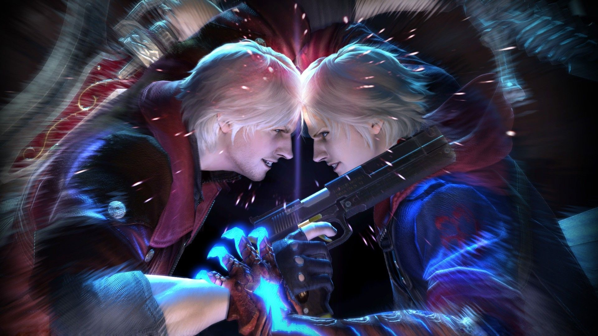 Pictures Of Devil May Cry Dante And Nero Devil May Cry 4