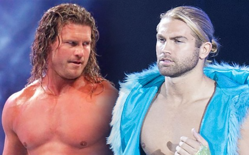 Tyler Breeze Takes A Dig At Dolph Ziggler Tyler Breeze Dolph Ziggler Professional Wrestling