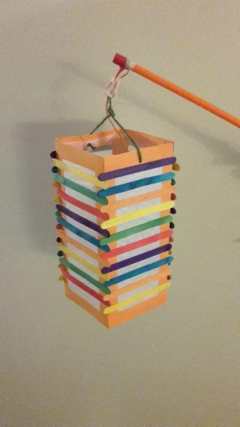 Laterne selber basteln - 42 einfache Vorlagen und Ideen zum Martinstag #laternebasteln