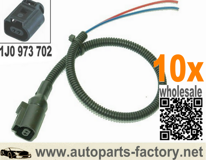 Long Yue 2 Way Pin Conctor Plug Pigtail 1j0973702 1j0 973 702 Case For Vw Audi Jetta Golf Gti 12 Audi Golf Gti Plugs
