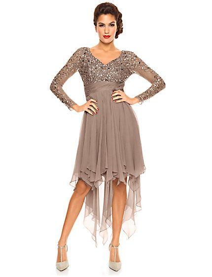 Paillettenkleid | Abendmode | Pinterest | Ashley brooke and Fashion