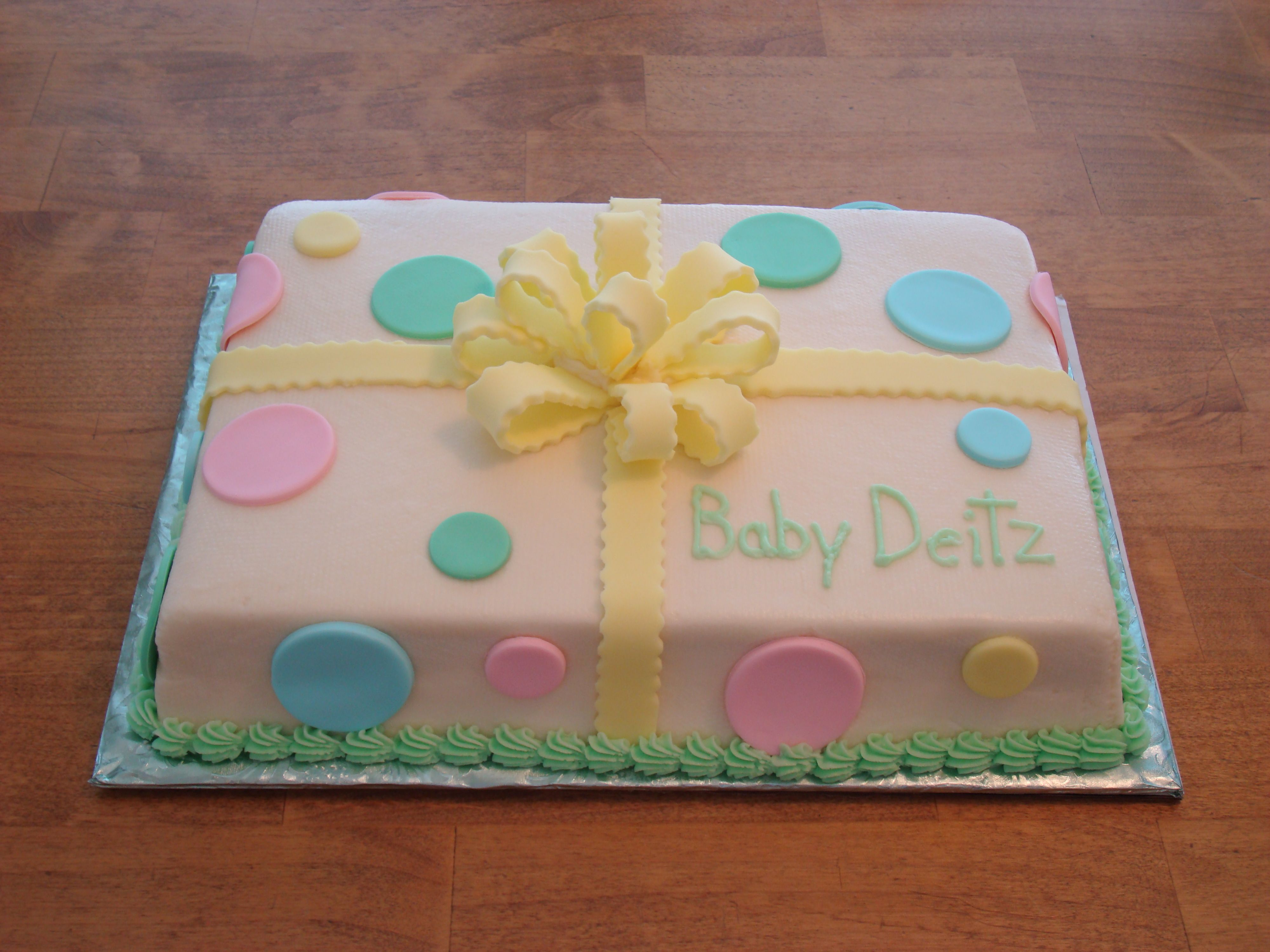 Cute cake for boy or girl Showers for School Pinterest