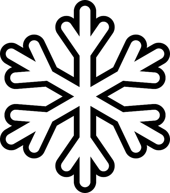 Snowflake Colouring Pages  Xmas decorations Free printable and