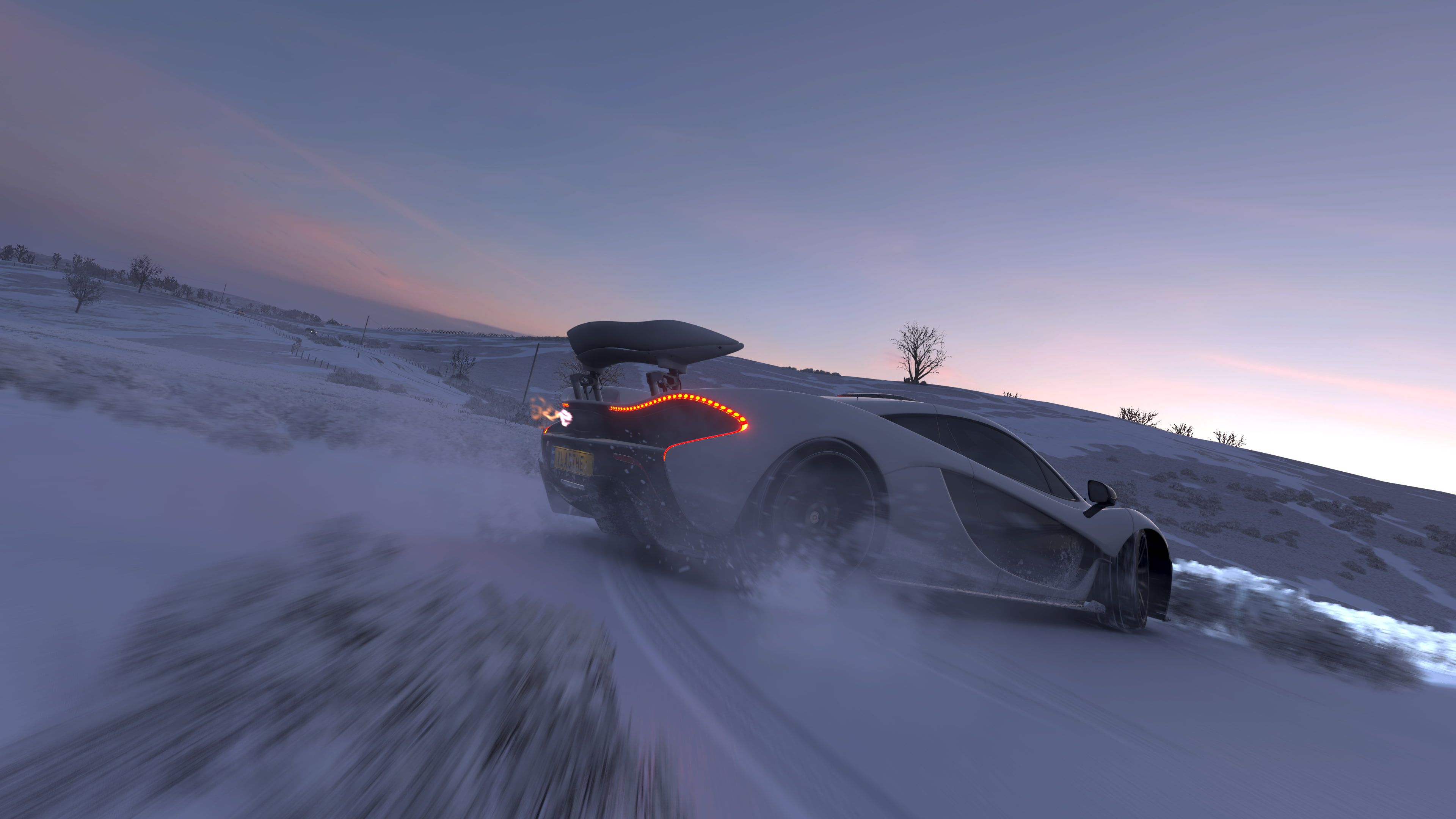 Forza Horizon 4 Mclaren P1 Drift Snow Clear Sky Supercars Games 4k Wallpaper Hdwallpaper Desktop Forza Horizon 4 Forza Forza Horizon
