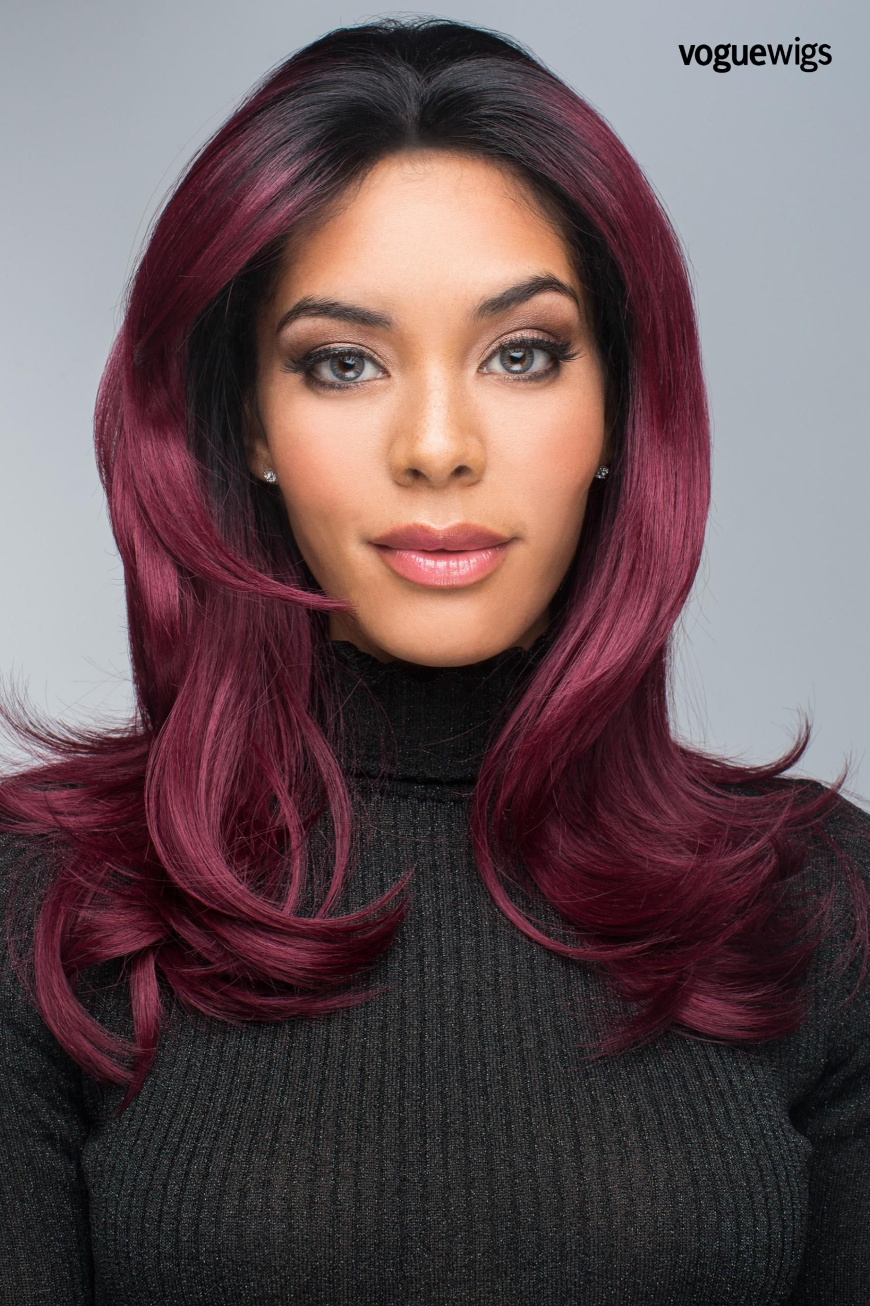 The Red Carpet Lace Front Wig By Revlon Bold Is An Extra Long Layered Style That Frames The Face Beautiful Lace Front Wigs Hair Pieces Hairstyles For Thin Hair